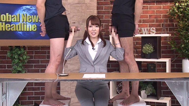 淫語女子アナ 8