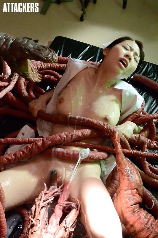 触手に溺れて― 奈落の快楽に堕ちた看護師 本田岬