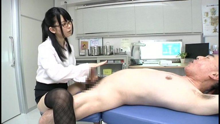 ご奉仕・手コキ診療室 卑猥すぎる泌尿器科医 あおば結衣
