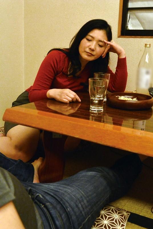 酔っ払った母が親父と間違えてフェラしてきた