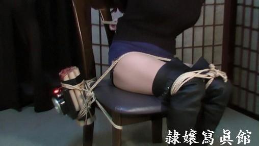もがく女 時限爆弾緊縛放置 赤坂奈菜