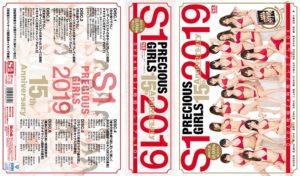 S1 PRECIOUS GIRLS 2019 15th Anniversary DVD6枚組24時間プレミアムBOX 初回生産10000個限定BOX