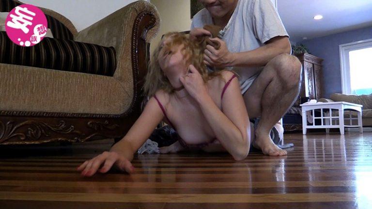 [実録・無編集]玄関開けたら2秒でレイプ!!ノンストップ・ノーカット・レイプ!「ボロボロになるまで強姦され続け生中出しされた金髪美人妻」